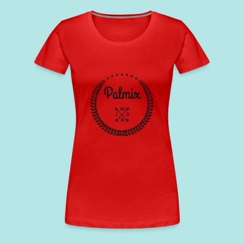 Palmix_wish V-neck - Women's Premium T-Shirt