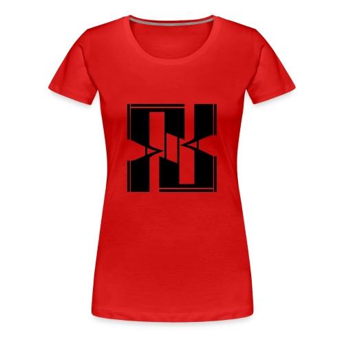 FLAKLOGO - Maglietta Premium da donna