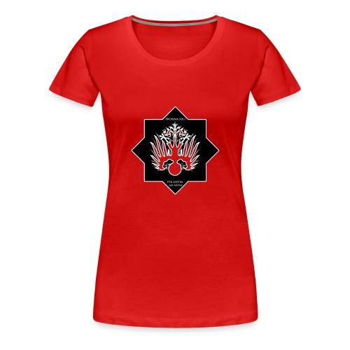 Per aspera ad astra. - Frauen Premium T-Shirt