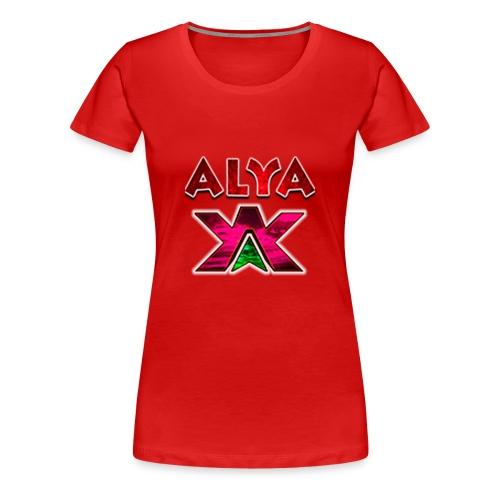 ALYA LOGO S - Premium T-skjorte for kvinner