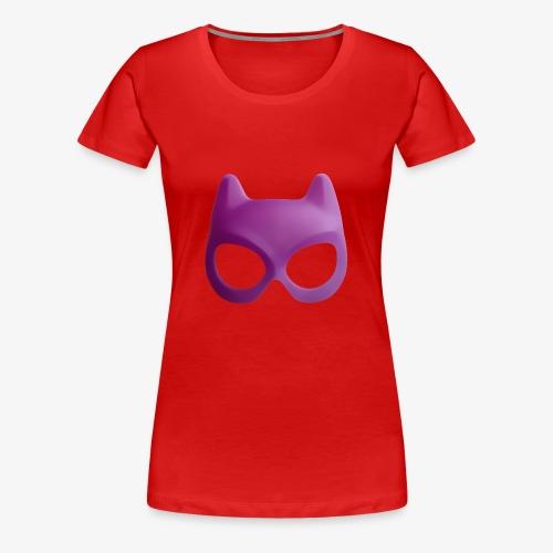 Bat Mask - Koszulka damska Premium