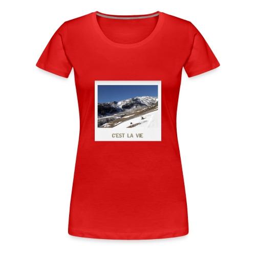 Mountains - Frauen Premium T-Shirt