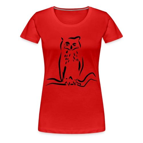 Gufo - Maglietta Premium da donna