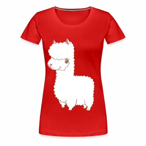 Ina's Alpaka - Frauen Premium T-Shirt