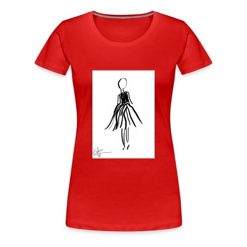 Lady - Women's Premium T-Shirt