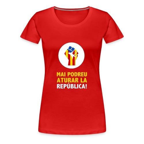 REPUBLICA - Camiseta premium mujer