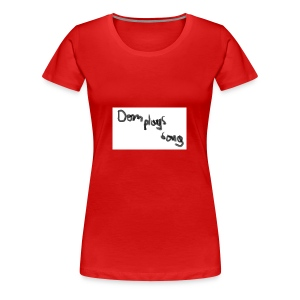 dom plays song - Women's Premium T-Shirt
