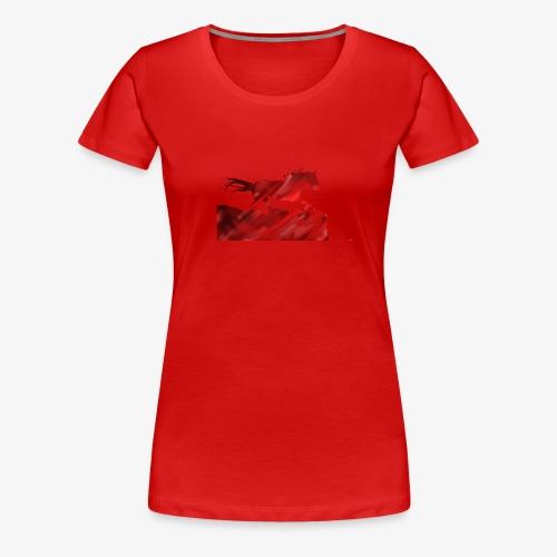 Rennendes Pferd #RealJolly - Frauen Premium T-Shirt