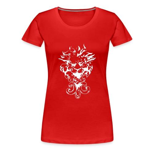 Abstrakter Löwe - Frauen Premium T-Shirt