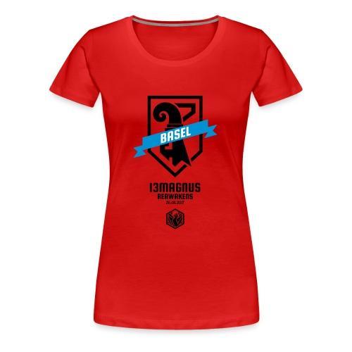T Shirt Aufdruck Front - Frauen Premium T-Shirt