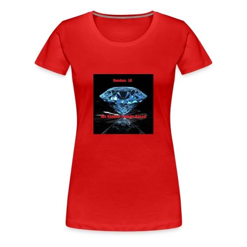 Random LR Logo - Vrouwen Premium T-shirt