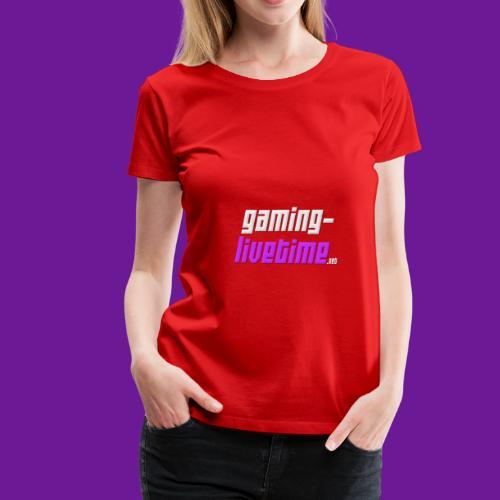 Gaming-livetime.net logo - Frauen Premium T-Shirt
