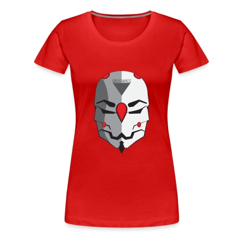 Greyfawkes logo colored - Women's Premium T-Shirt