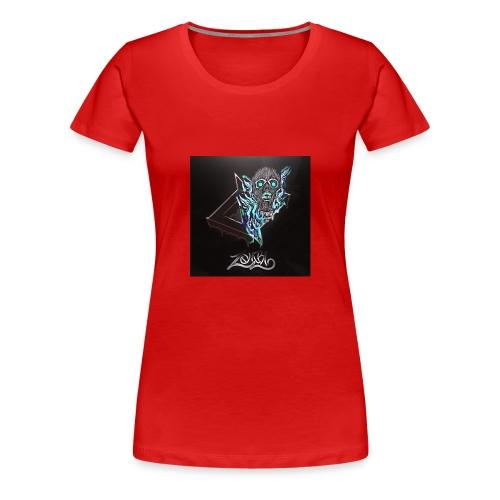 Space Zombii shirt logo design. - Camiseta premium mujer