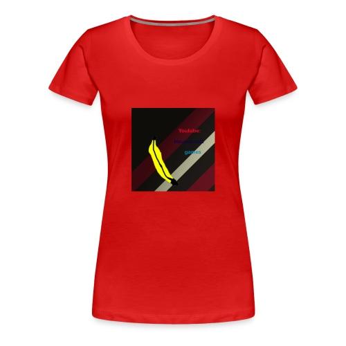 HCG Banaan - Vrouwen Premium T-shirt