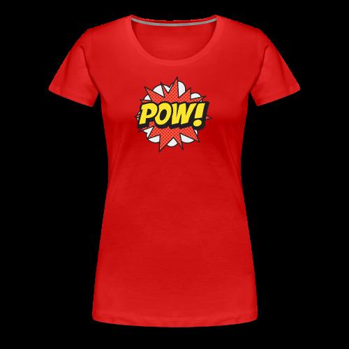 ONOMATOPOEIA. Pow! - Women's Premium T-Shirt