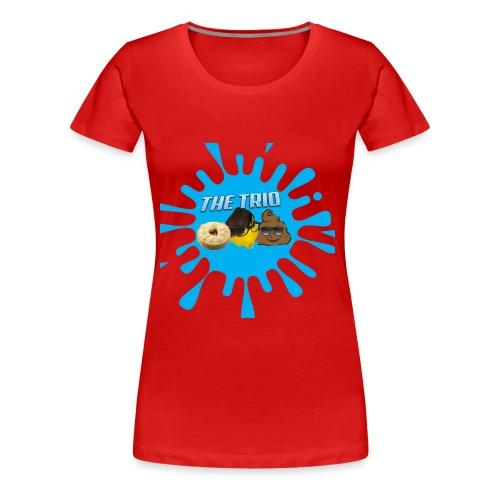 The Trio (Zak O'Leary) - Women's Premium T-Shirt