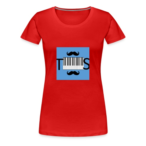 Tekniska spelarnas olika grejer - Premium-T-shirt dam