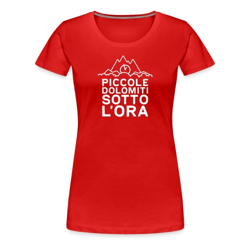 Piccole Dolomiti sotto l'ora - Maglietta Premium da donna