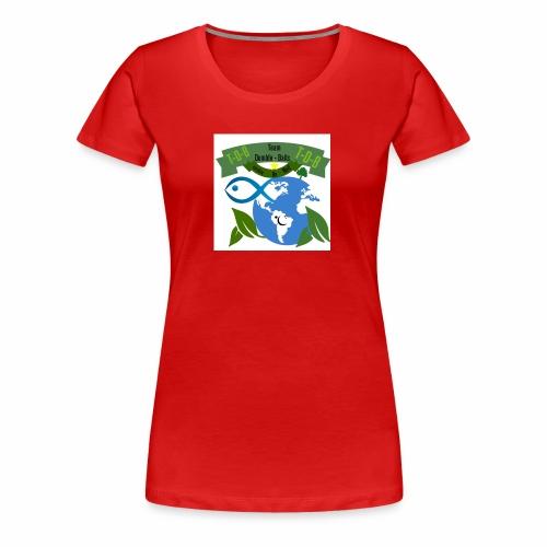 logo dumble baits - T-shirt Premium Femme