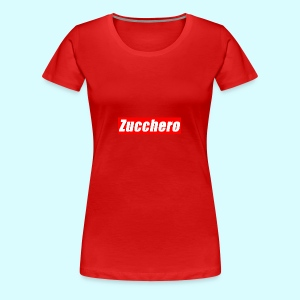 Zucchero Box Red - Women's Premium T-Shirt