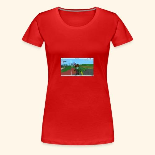 randie gaming t shrit - Vrouwen Premium T-shirt