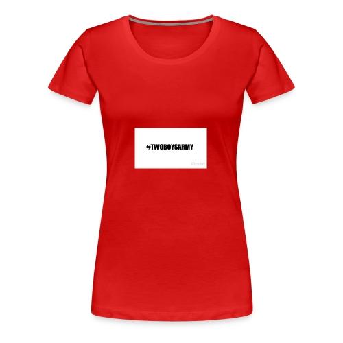 New TWOBOYSARMY - Frauen Premium T-Shirt