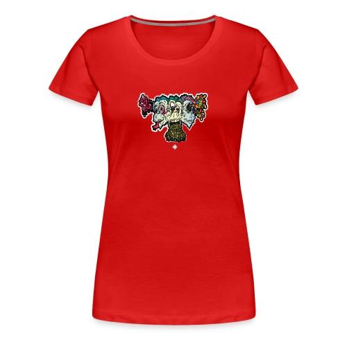 Singe de La Sagesse - T-shirt Premium Femme