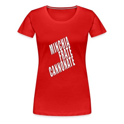 Cannonate - Maglietta Premium da donna