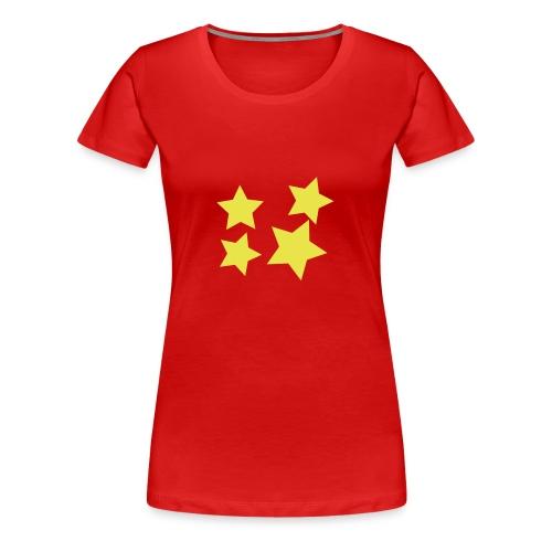 STERNE - Frauen Premium T-Shirt
