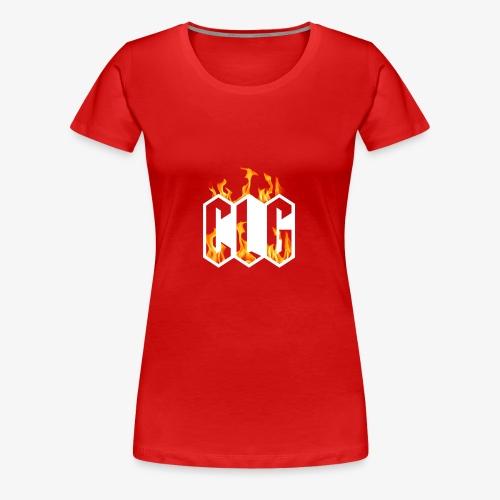 CLG DESIGN - T-shirt Premium Femme