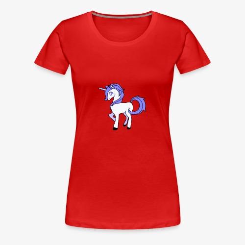 Lila Einhorn - Frauen Premium T-Shirt