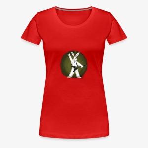 Metal Bunny - Women's Premium T-Shirt