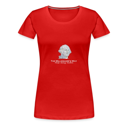 Il nostro logo in bianco - Maglietta Premium da donna