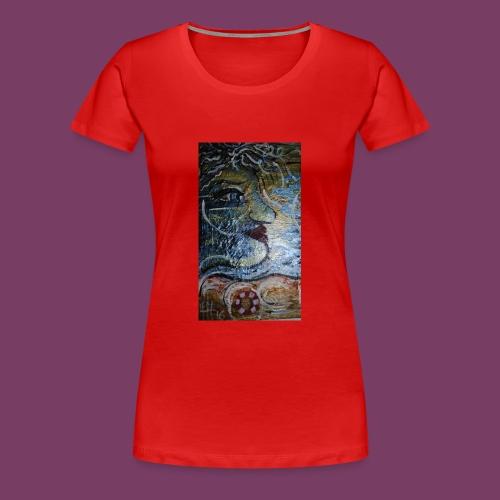 Hav-frue - Dame premium T-shirt