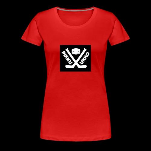 Pikku Ukko - Naisten premium t-paita