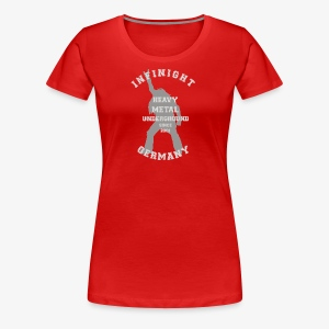 Infinight College headbanger hell - Frauen Premium T-Shirt