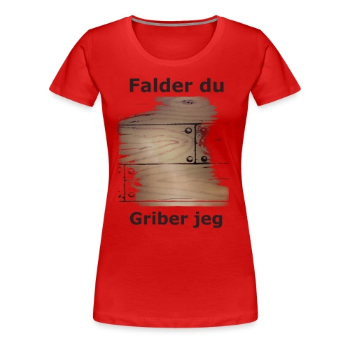 Gulvet Griber - Dame premium T-shirt