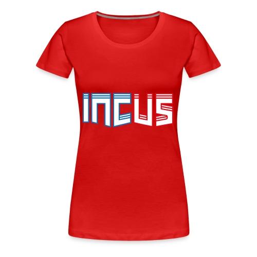 incus logo - Frauen Premium T-Shirt