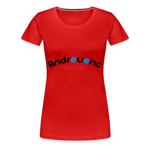 Andreuenc - Camiseta premium mujer