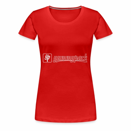 yummypack_LOGO_Outline - Frauen Premium T-Shirt