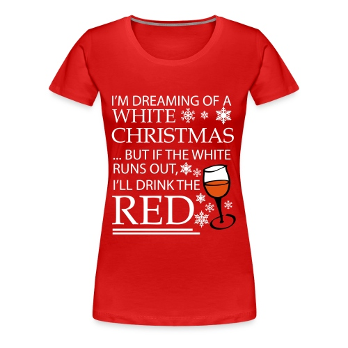 White Christmas - Women's Premium T-Shirt