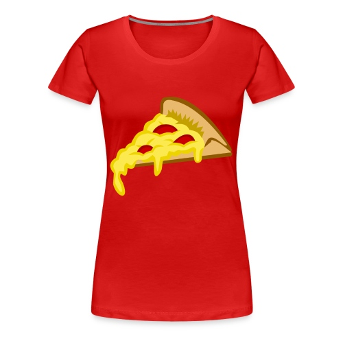 IF IT FITS MY SHIRT PIZZA? - Vrouwen Premium T-shirt