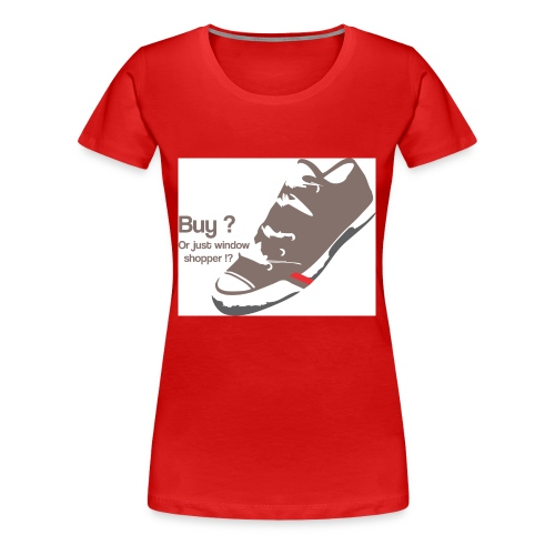 window_shopper - Women's Premium T-Shirt