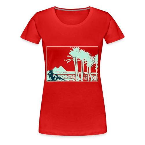 Girl nil - T-shirt Premium Femme