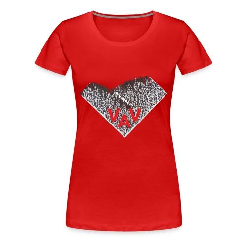 Huivilogo - Naisten premium t-paita