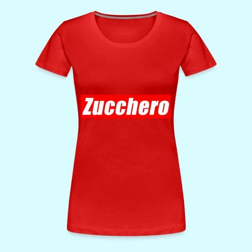 Zucchero Box Red - Women's Premium T-Shirt