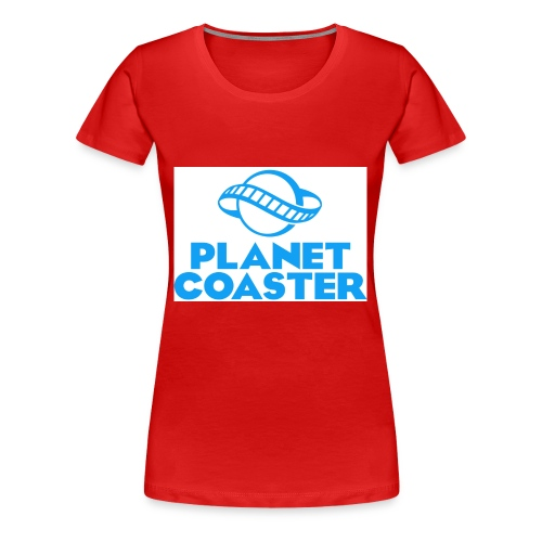 game planet coaster - Vrouwen Premium T-shirt