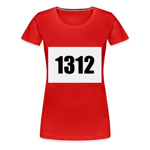1312 - Premium-T-shirt dam
