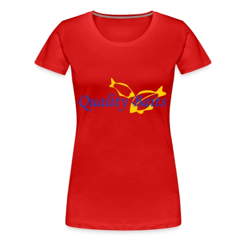 Quality Baits Logo - Women's Premium T-Shirt